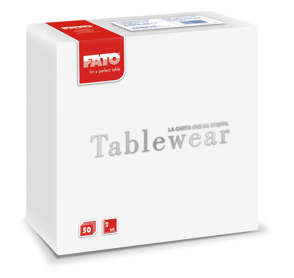 88400100 Tablewear Bianco – 40×40 – 50 pz