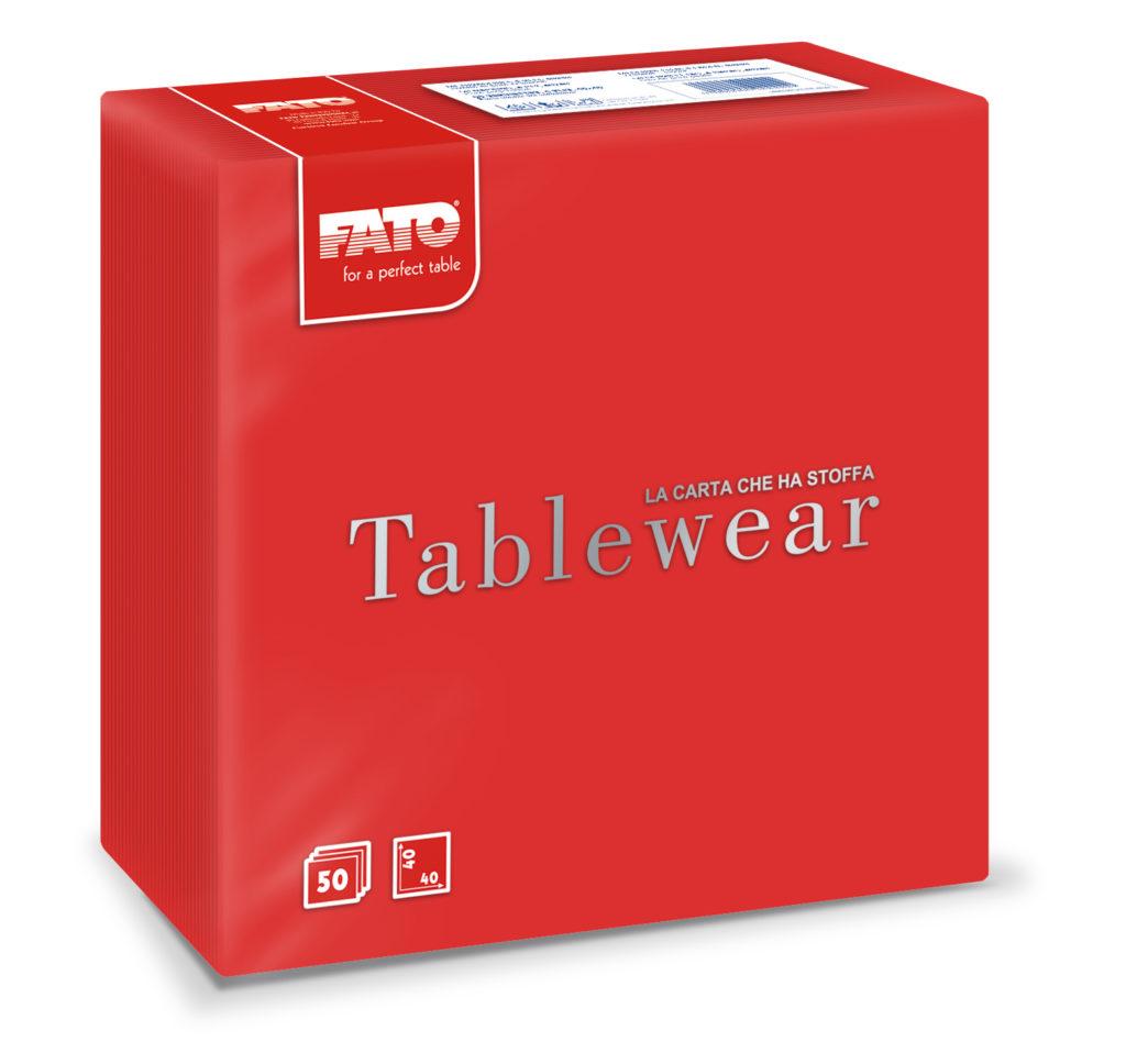 88401500 Tablewear Rosso – 40×40 – 50 pz