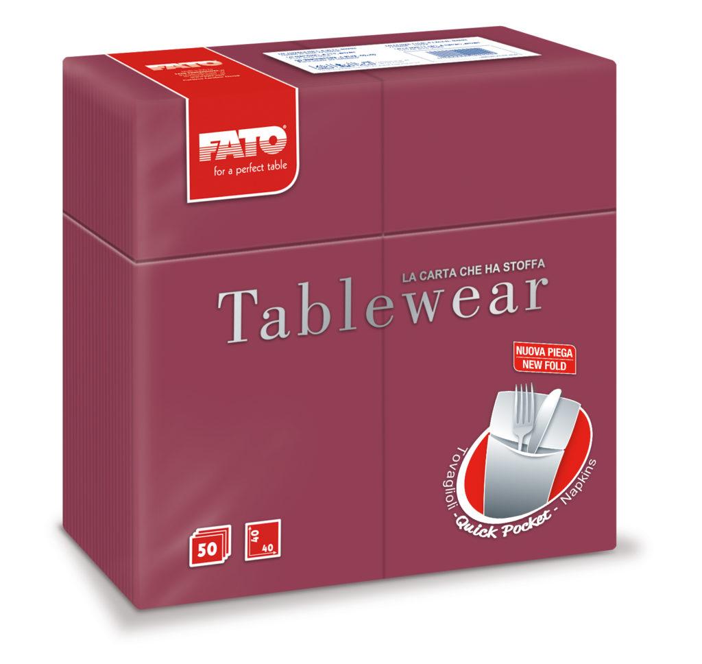 88480200 Tablewear Bordeaux – Quick Pocket – 50 pz